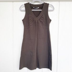 ATHLETA Olive Green Senorita Tank Dress M